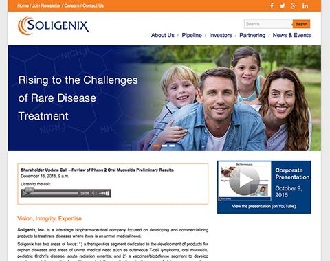 Soligenix, Inc..